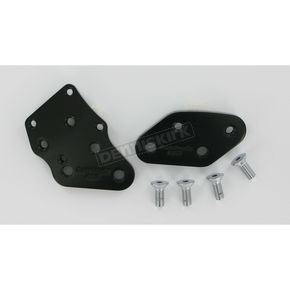 Accutronix Black Kick-Back Adapter Plates - 1 3/8 in. Back - FCKB103-B
