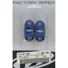 Factory Effex Rotating Bar Clamp Kit without Hot Start Lever - 12-36710
