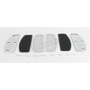 Custom Chrome TourEase Custom Floorboard Pads - 14319