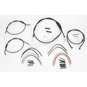 Burly 12 in. Handlebar Installation Kit - B30-1007