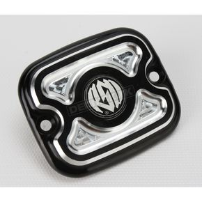 Roland Sands Design Contrast Cut Cafe Front Brake Master Cylinder Cover - 0208-2037-BM