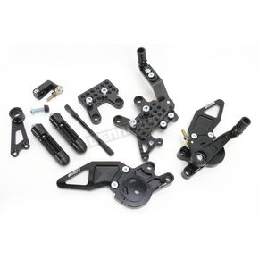 Driven Racing D-Axis Rearset - DRP-514-BK