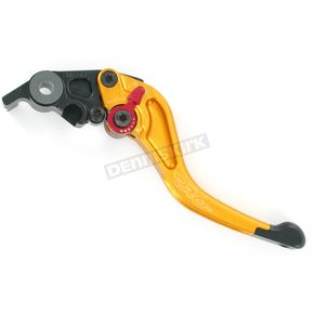 Constructors Racing Group Shorty Length Gold RC2 Brake Lever - 2RB-517-H-G