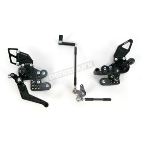 Driven Racing D-Axis Rearset - DRP-520-BK