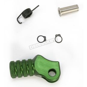 Hammerhead Designs Green +10mm Knurled Shift Tip - 01-0000-06-30