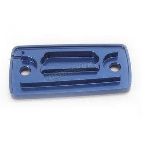 Hammerhead Designs Blue Clutch Master Cylinder Cover - 35-0565-00-20