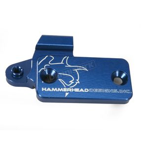 Hammerhead Designs Blue Clutch Master Cylinder Cover - 35-0566-00-20