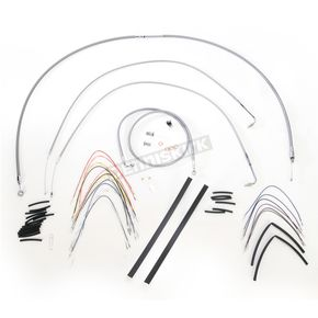 Burly Brand Braided Stainless Steel Cable/Line Kit - B30-1050