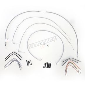 Burly Brand Braided Stainless Steel Cable/Line Kit - B30-1053
