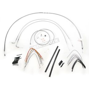 Burly Brand Braided Stainless Steel Cable/Line Kit - B30-1054