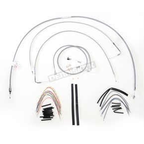 Burly Brand Braided Stainless Steel Cable/Line Kit - B30-1057