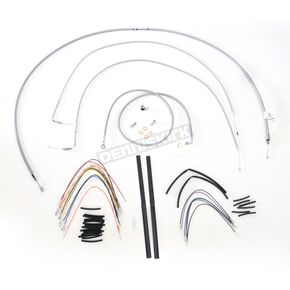 Burly Brand Braided Stainless Steel Cable/Line Kit - B30-1058