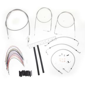 Burly Brand Braided Stainless Steel Cable/Line Kit - B30-1076