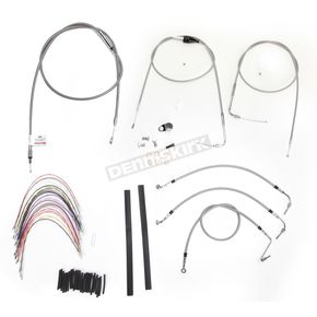 Burly Brand Braided Stainless Steel Cable/Line Kit - B30-1082