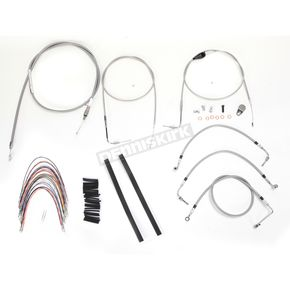 Burly Brand Braided Stainless Steel Cable/Line Kit - B30-1089