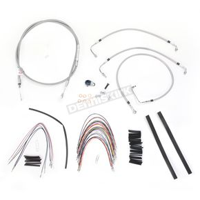 Burly Brand Braided Stainless Steel Cable/Line Kit - B30-1091