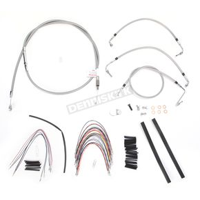 Burly Brand Braided Stainless Steel Cable/Line Kit - B30-1092