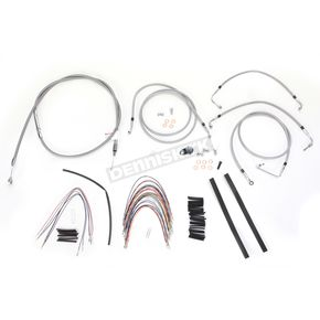 Burly Brand Braided Stainless Steel Cable/Line Kit w/ABS - B30-1094