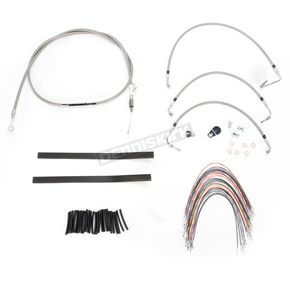 Burly Brand 13 in. Handlebar Installation Kit w/Non-ABS - B30-1103