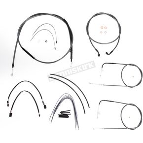 Magnum Black Pearl Designer Series Handlebar Installation Kit for Use w/18 in. - 20 in. Ape Hangers (Non-ABS)  - 487133