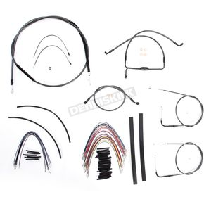 Magnum Black Pearl Designer Series Handlebar Installation Kit for Use w/12 in. - 14 in. Ape Hangers (Non-ABS)  - 487191