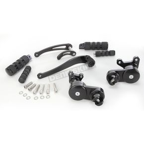 Jay Brake Black J-FL Series Multi-Band Forward Controls - J-950JFL-173