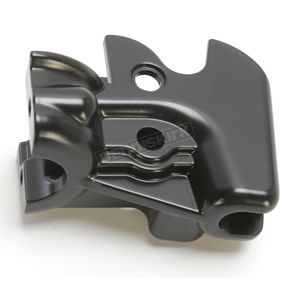 Drag Specialties Black Clutch Lever Bracket - 0615-0272