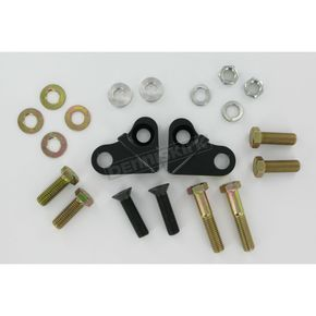LA Choppers Black Lowering Kit - 1.5 in. Lower Than Stock - LA-7500-02
