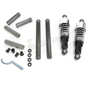 Burly Brand Chrome Slammer Kit - 90/130 Spring Rate (lbs/in) - B28-1000
