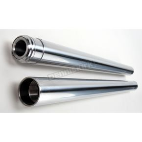 Custom Cycle 30.25 in. 41mm Hard Chrome Fork Tubes - T1340HC