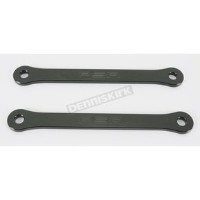 Powerstands Racing Black 2 in. Lowering Link - 04-00756-22