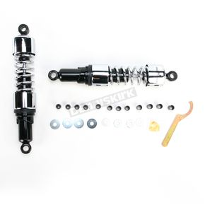 Progressive Suspension Chrome 412 Series Dual Shock Assembly - 75/120 Spring Rate (lbs/in) - 412-4260C