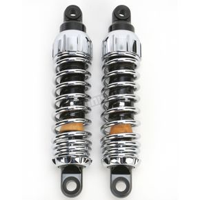 Progressive Suspension Chrome Standard 444 Series Shocks - 90/130 Spring Rate (lbs/in) - 444-4005C