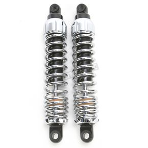 Progressive Suspension Chrome Standard 444 Series Shocks - 75/120 Spring Rate (lbs/in) - 444-4009C