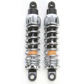 Progressive Suspension Chrome Heavy Duty 444 Series Shocks - 115/155 Spring Rate (lbs/in) - 444-4011C