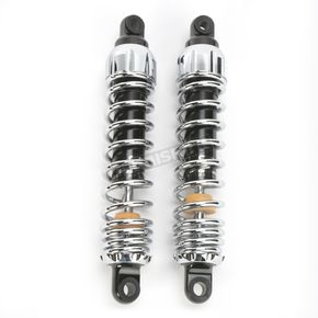 Progressive Suspension Chrome Heavy Duty 444 Series Shocks - 105/150 Spring Rate (lbs/in) - 444-4020C