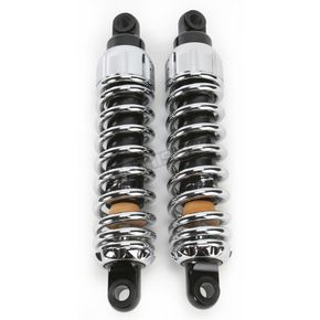 Progressive Suspension Chrome Heavy Duty 444 Series Shocks - 300/350 Spring Rate (lbs/in) - 444-4044C