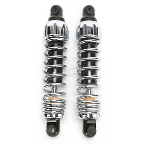 Progressive Suspension Chrome Standard 444 Series Shocks - 90/130 Spring Rate (lbs/in) - 444-4049C