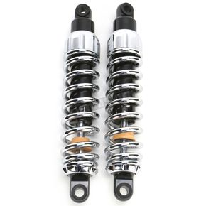 Progressive Suspension Chrome Heavy Duty 444 Series Shocks - 270/315 Spring Rate (lbs/in) - 444-4051C