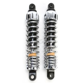 Progressive Suspension Chrome Standard 444 Series Shocks - 120/170 Spring Rate (lbs/in) - 444-4056C