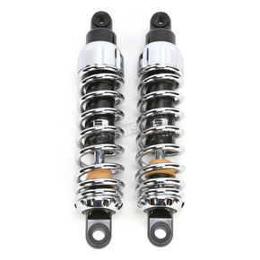Progressive Suspension Chrome 444 Series Shocks - 210/250 Spring Rate (lbs/in) - 444-4229C