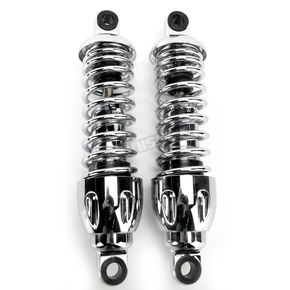 Progressive Suspension 11 in. Chrome 430 Series Shocks - 430-4005C