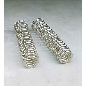 Chrome Shock Springs for 12, 13 and 412 Series Dual Shocks - 105/150 Spring Rate (lbs/in) - 03-1368C