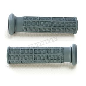 Pro Taper Medium Gray ATV/SNOW Half Waffle Grips - 02-4838