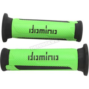 Domino Grips Green/Black Turismo Street Grips - A35041C4044