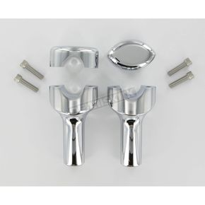 LA Choppers 1 1/4 in. Yamaha Handlebar Risers - 3 in. - 0602-0170