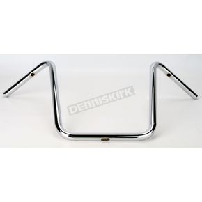 Drag Specialties 1 in. Chrome 16 in. Ape Hanger Handlebars - 0601-1222