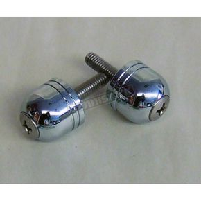 NCY Chrome Stubby Scooter Bar Ends - 08001024