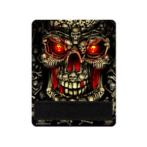 Hot Leathers Skulls Throttle Art - GRB1013