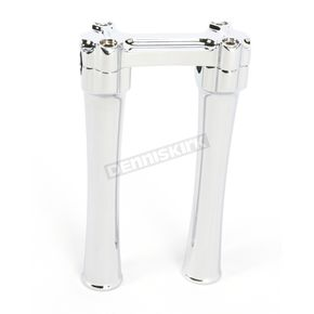 Alloy Art Chrome Bone Bar Risers for 1-1/8 in. Handlebars - BBC81-1